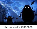 halloween background | Shutterstock . vector #95453863