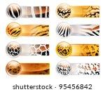wild web banners | Shutterstock .eps vector #95456842