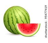 illustration of juicy water... | Shutterstock .eps vector #95477419