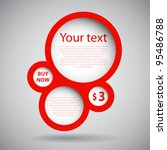 speech bubble | Shutterstock .eps vector #95486788