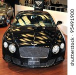 TORONTO-FEBRUARY 16: Bentley Continental GT at the 2012 Canadian International Auto Show on February 16, 2012 in Toronto - stock photo