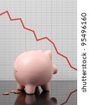 Piggy Bank Worrying Over Stock...