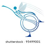 ballerina fairy butterfly. the... | Shutterstock .eps vector #95499001