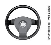 steering wheel   realistic... | Shutterstock .eps vector #95513809
