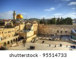 Western Wall And Dome Of The...