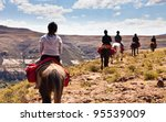 pony trail adventure in the... | Shutterstock . vector #95539009