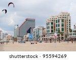 Beach Of Tel Aviv  Israel