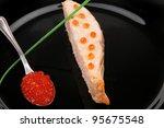 healthy fish cuisine   roasted...