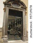 Bronze Sculpture Of Bishops By...