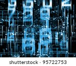 networking technology... | Shutterstock . vector #95722753