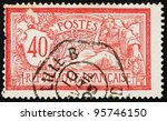 france   circa 1900  a stamp... | Shutterstock . vector #95746150