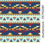 seamless geometric pattern in... | Shutterstock .eps vector #95793289