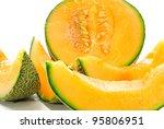 Orange Cantaloupe Melon...
