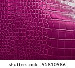 Crocodile Skin Texture In Pink...