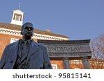 Bronze Memorial Statue Of...