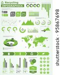 ecology info graphics... | Shutterstock .eps vector #95867698