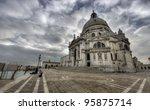 Basilica of St Mary of Health (Venice) - stock photo