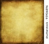 sepia toned background texture with vignette - stock photo