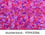 Stock photo background from flowers 95943586