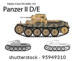 Постер, плакат: German WW2 Panzer II