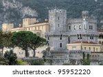 Monte Carlo Prince's Palace, Monaco - stock photo