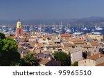 Saint Tropez city, France - stock photo