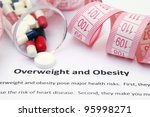 overweight and obesity | Shutterstock . vector #95998271