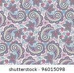 seamless elegant lace pattern... | Shutterstock .eps vector #96015098