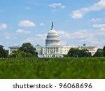Stock photo us capitol washington dc 96068696