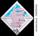 ussr   circa 1966  a stamp... | Shutterstock . vector #96096416