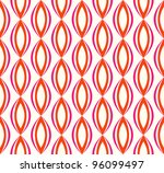 abstract ethnic retro  geometric pattern. Colorful vector illustration - stock vector