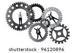 part of the team effort concept ... | Shutterstock . vector #96120896