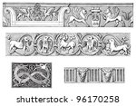 decorative ornamental borders...