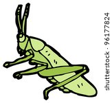grasshopper cartoon | Shutterstock . vector #96177824