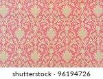 flower pattern in traditional...   Shutterstock . vector #96194726