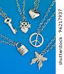 Collection Of Silver Pendants...
