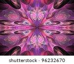 Pink And Purple Kaleidoscope...