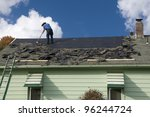 Removing Old Shingles To...