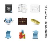 detailed business vector icon... | Shutterstock .eps vector #96294611