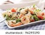 Fresh And Healthy Salad With...
