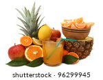 fruit juice | Shutterstock . vector #96299945