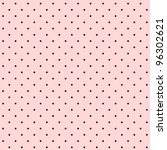 seamless polka dot background | Shutterstock .eps vector #96302621