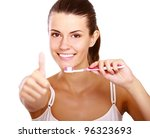 Smiling Woman With Great Teeth...