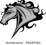 animal,art,artwork,bronco,broncos,colt,head,high school,horse,illustration,image,mascot,mustang,school,sport