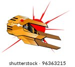 vector illustration of... | Shutterstock .eps vector #96363215