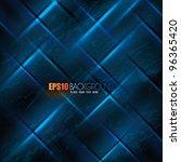 vector futuristic background | Shutterstock .eps vector #96365420