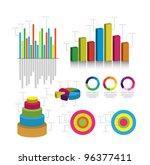 vector infographics | Shutterstock .eps vector #96377411