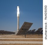 Central Tower Solar Thermal...