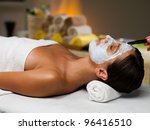mask treatment   Shutterstock . vector #96416510