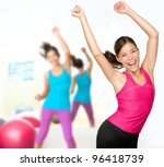 Fitness Dance Class Aerobics....